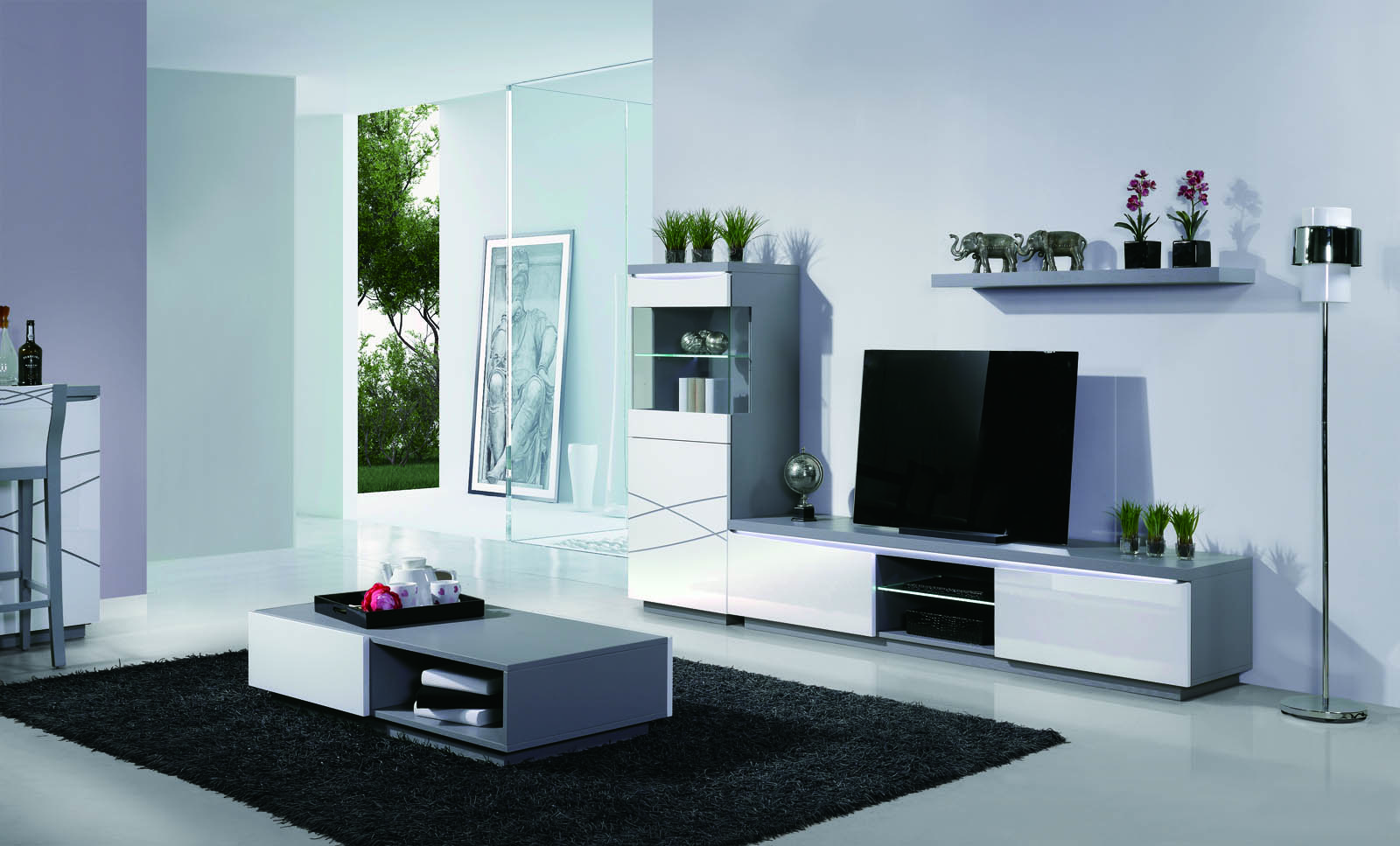 meuble tv palace 2 urban design magasin de meubles antibes urban design. Black Bedroom Furniture Sets. Home Design Ideas